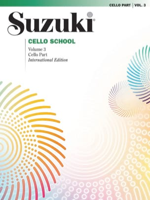Cello School Volume 3 - SUZUKI - Partition - laflutedepan.com