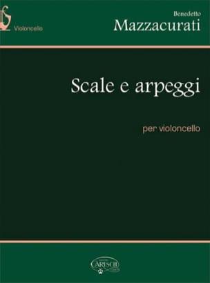 Scale E Arpeggi Benedetto Mazzacurati Partition laflutedepan