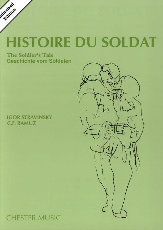 Histoire du Soldat - Score - STRAVINSKY - Partition - laflutedepan.com