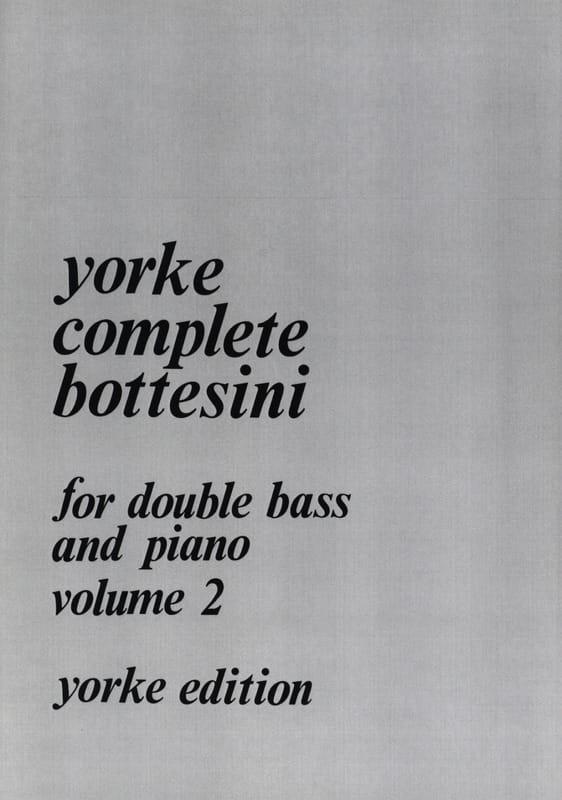 Complete Bottesini Volume 2 - BOTTESINI - Partition - laflutedepan.com