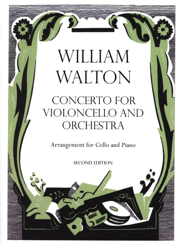 Concerto for violoncello - William Walton - laflutedepan.com