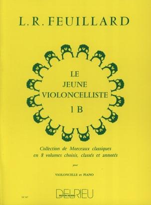 Le Jeune Violoncelliste Volume 1 B FEUILLARD Partition laflutedepan