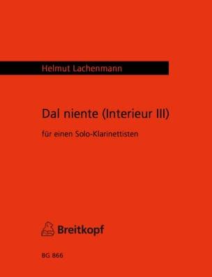 Dal Niente Intérieur 3 - Helmut Lachenmann - laflutedepan.com