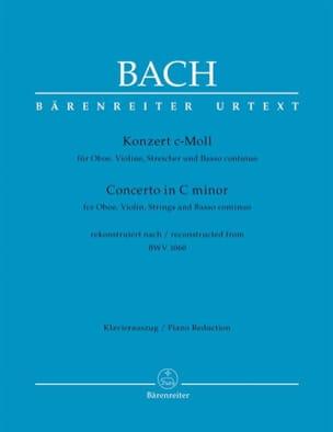 Konzert c-moll nach BWV 1060 - Oboe Violine Klavier BACH laflutedepan