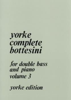 Yorke Complete Bottesini Volume 3 BOTTESINI Partition laflutedepan