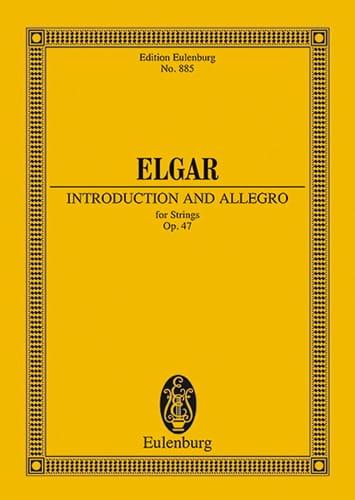 Introduktion und Allegro - ELGAR - Partition - laflutedepan.com