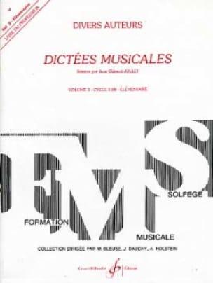 Dictées Musicales Volume 3 - Prof - laflutedepan.com
