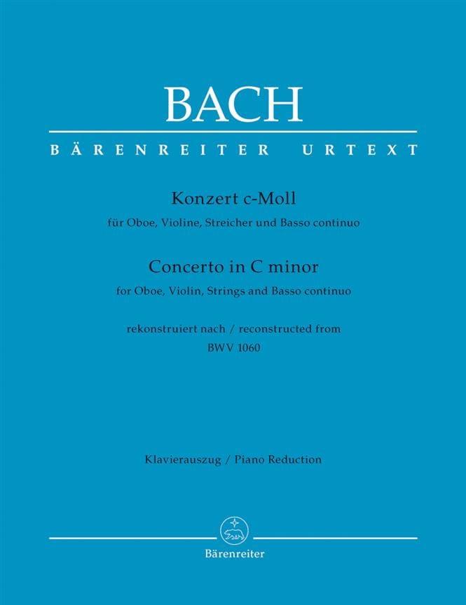 Konzert c-moll nach BWV 1060 - Oboe Violine Klavier - laflutedepan.com