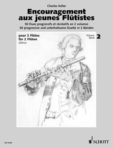 Encouragement aux jeunes flûtistes - Volume 2 - 2 Flûtes - laflutedepan.com
