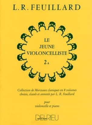 Le Jeune Violoncelliste Vol.2 A FEUILLARD Partition laflutedepan