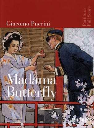 Madame Butterfly Nouvelle Edition PUCCINI Partition laflutedepan