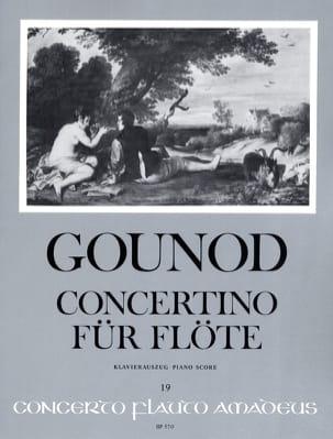Concertino pour Flûte GOUNOD Partition laflutedepan