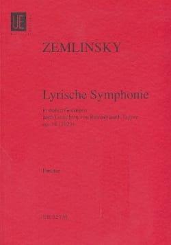 Lyrische Symphonie op. 18- Partitur laflutedepan