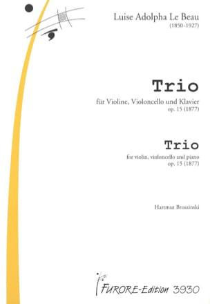Trio op.15 -Violine Cello Klavier - laflutedepan.com