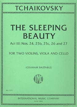 The Sleeping Beauty, act 3 - Quatuor à cordes TCHAIKOVSKY laflutedepan