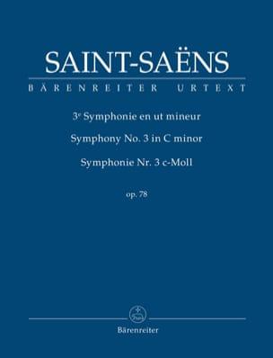 Symphonie n° 3, opus 78 SAINT-SAËNS Partition laflutedepan