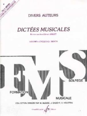Dictées Musicales Volume 4 - Prof. - laflutedepan.com