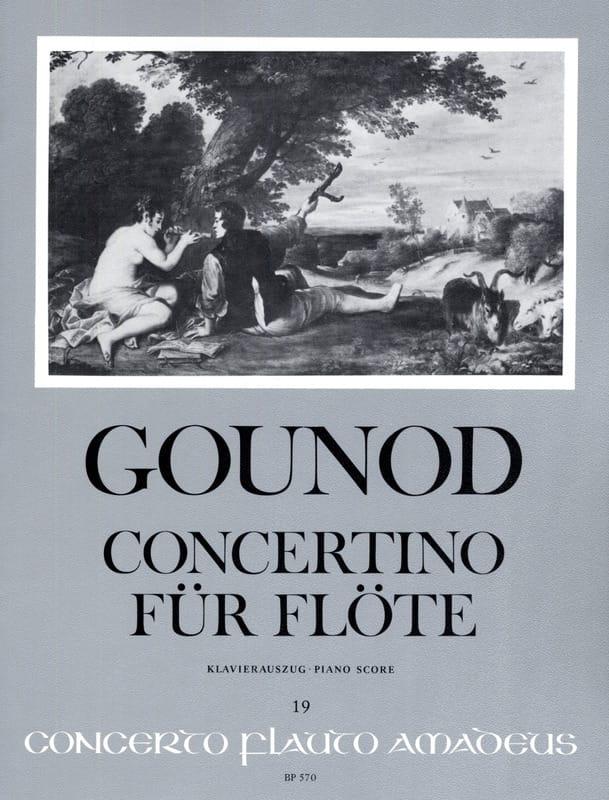 Concertino pour Flûte - GOUNOD - Partition - laflutedepan.com
