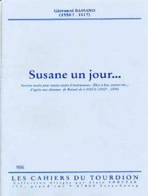 Susane un jour... - Giovanni Bassano - Partition - laflutedepan.com
