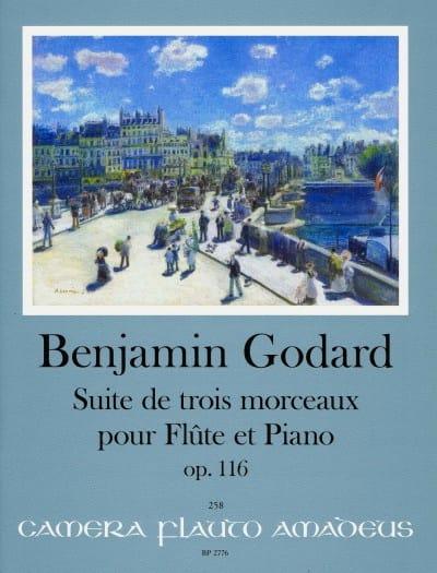 Suite de 3 Morceaux, op. 116 - Flûte et Piano - laflutedepan.com