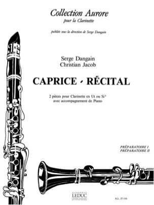 Caprice - Récital Dangain Serge / Jacob Christian laflutedepan
