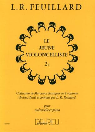 Le Jeune Violoncelliste Vol.2 B FEUILLARD Partition laflutedepan