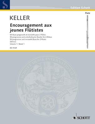 Encouragement Aux Jeunes Flûtistes Volume 1 - 2 Flûtes laflutedepan