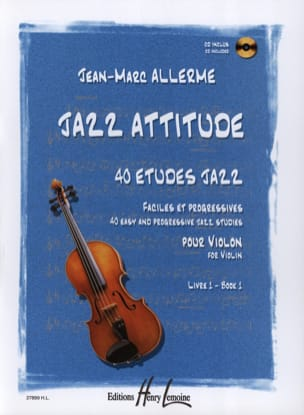 Jazz Attitude Volume 1 Jean-Marc Allerme Partition laflutedepan