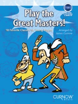 Play the Great Masters ! - Bassoon James Curnow laflutedepan