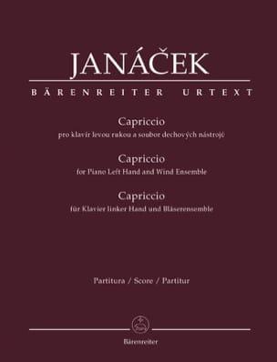 Capriccio JANACEK Partition OCTUORS - laflutedepan