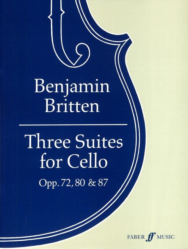 3 Suites pour Violoncelle - BRITTEN - Partition - laflutedepan.com