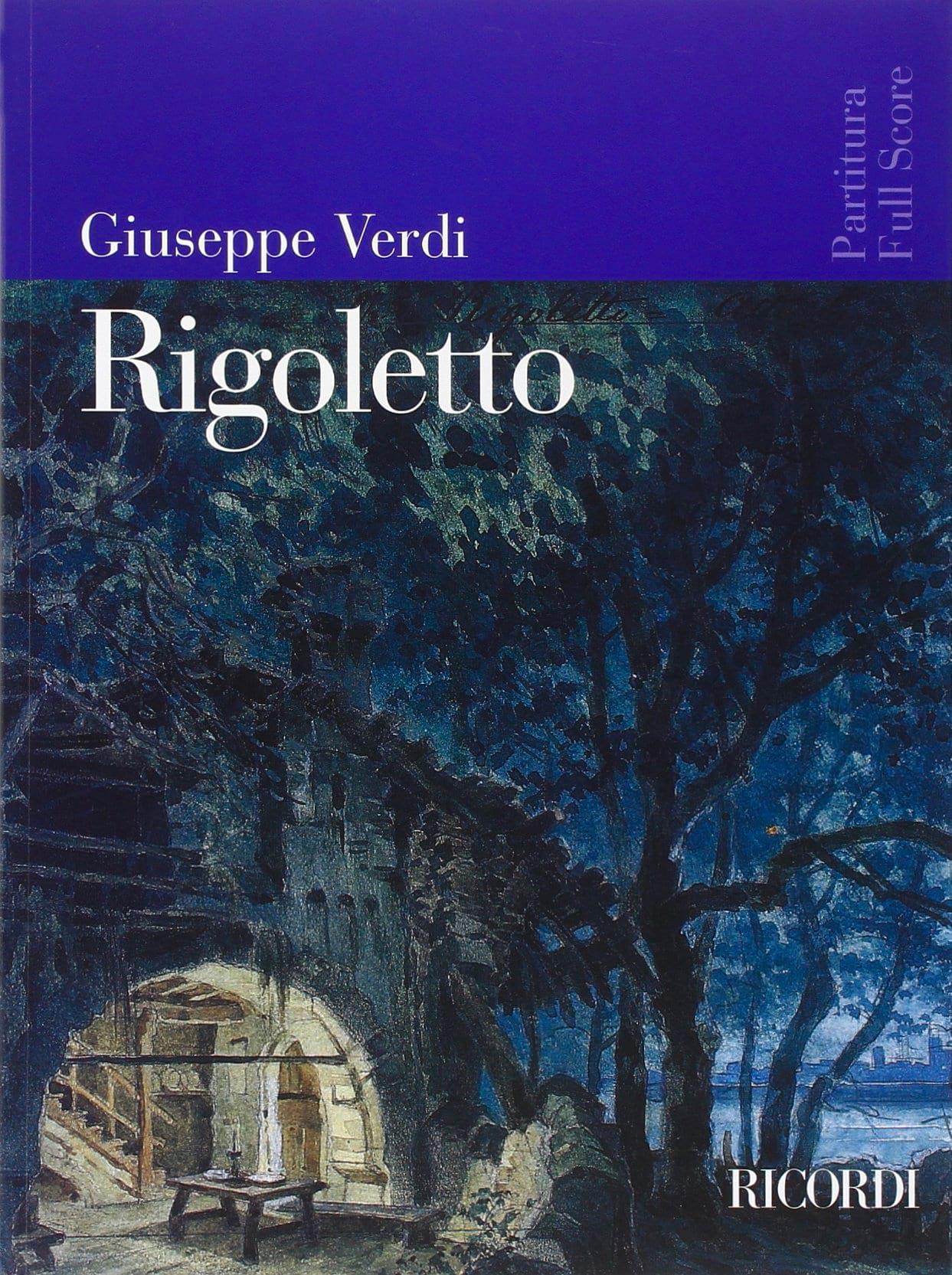 Rigoletto nouvelle édition - Partitura - VERDI - laflutedepan.com