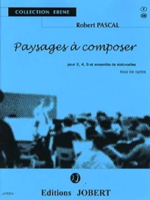 Paysages à composer - Robert Pascal - Partition - laflutedepan.com