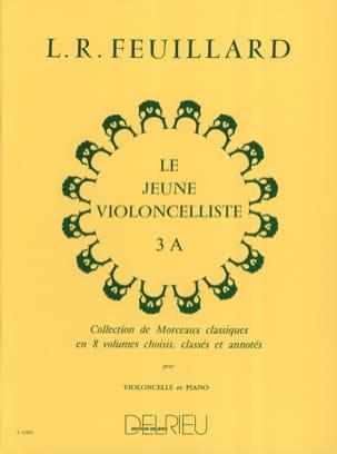 Le Jeune Violoncelliste Vol.3 A FEUILLARD Partition laflutedepan