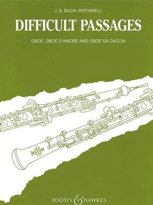 Difficult Passages - BACH - Partition - Hautbois - laflutedepan.com