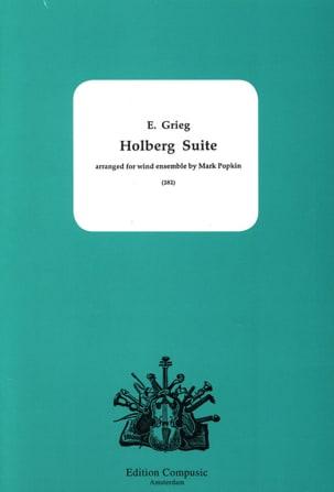Holberg Suite - Ensemble à Vents GRIEG Partition laflutedepan