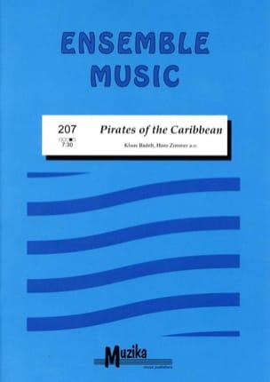 Pirates Of the Caribbean Partition ENSEMBLES - laflutedepan