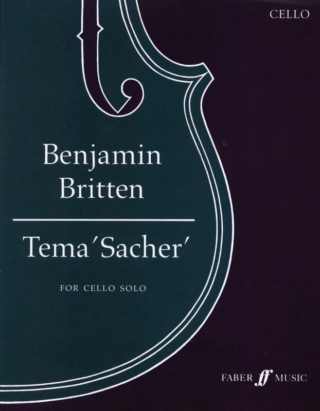 Tema 'Sacher' - BRITTEN - Partition - Violoncelle - laflutedepan.com