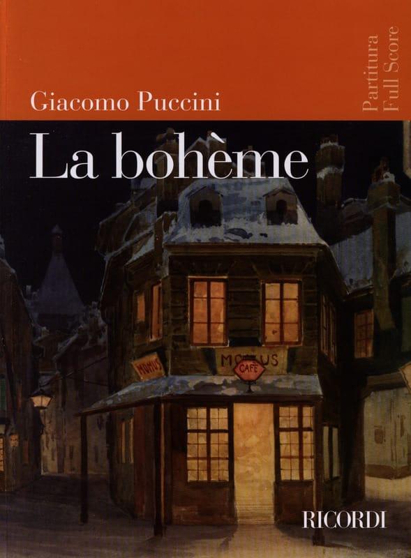 La Bohème Nouvelle Edition - PUCCINI - Partition - laflutedepan.com
