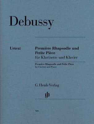 Première Rhapsodie et Petite pièce DEBUSSY Partition laflutedepan