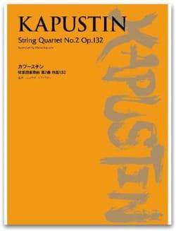 Strinq Quartet N°2 Opus 132 - Nikolai Kapustin - laflutedepan.com