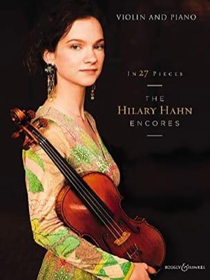 The Hilary Hahn Encores Partition Violon - laflutedepan