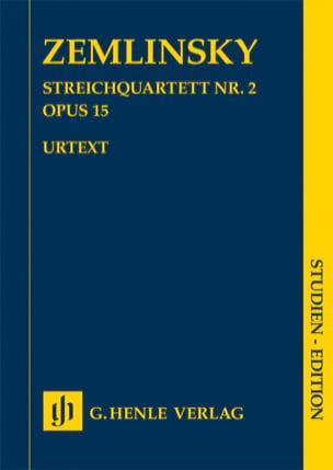 Quatuor à Cordes n° 2, opus 15 Alexander von Zemlinsky laflutedepan