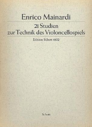 21 Studien - Enrico Mainardi - Partition - laflutedepan.com