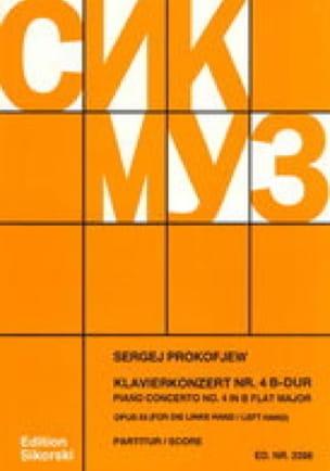 Klavierkonzert Nr. 4, Op. 53 - Conducteur - laflutedepan.com