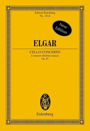 Concerto Pour Violoncelle et Orchestre En Mi Mineur Op. 85 - Conducteur laflutedepan