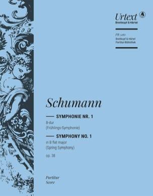 Symphonie Nr. 1 B-Dur op. 38 - Partitur SCHUMANN laflutedepan