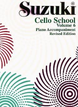 Cello School Volume 6 - Piano-Acc. SUZUKI Partition laflutedepan