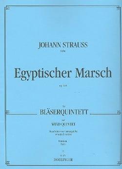 Egyptischer Marsch op. 335 -Bläserquintett laflutedepan