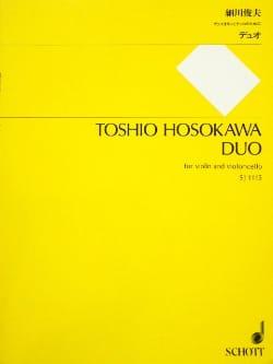 Duo Toshio Hosokawa Partition 0 - laflutedepan